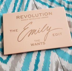 Makeup Revolution Emily Edit The Wants Palette